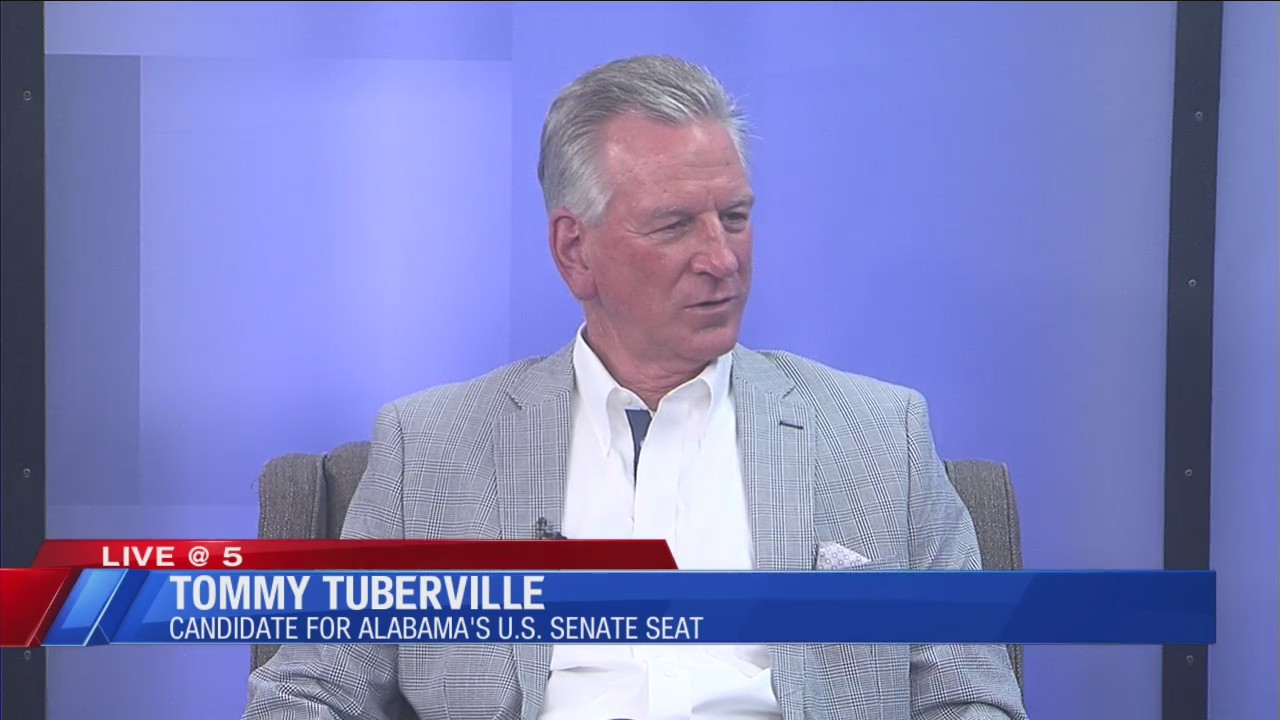 Senate candidate Tommy Tuberville joins WDHN for Live at Five