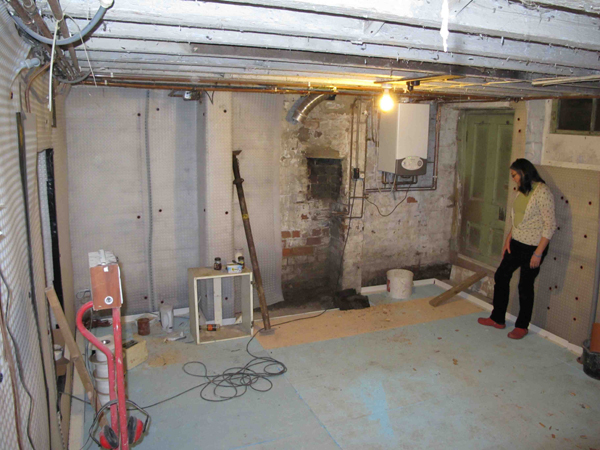 Do The Basement  Victorian Basement Conversion