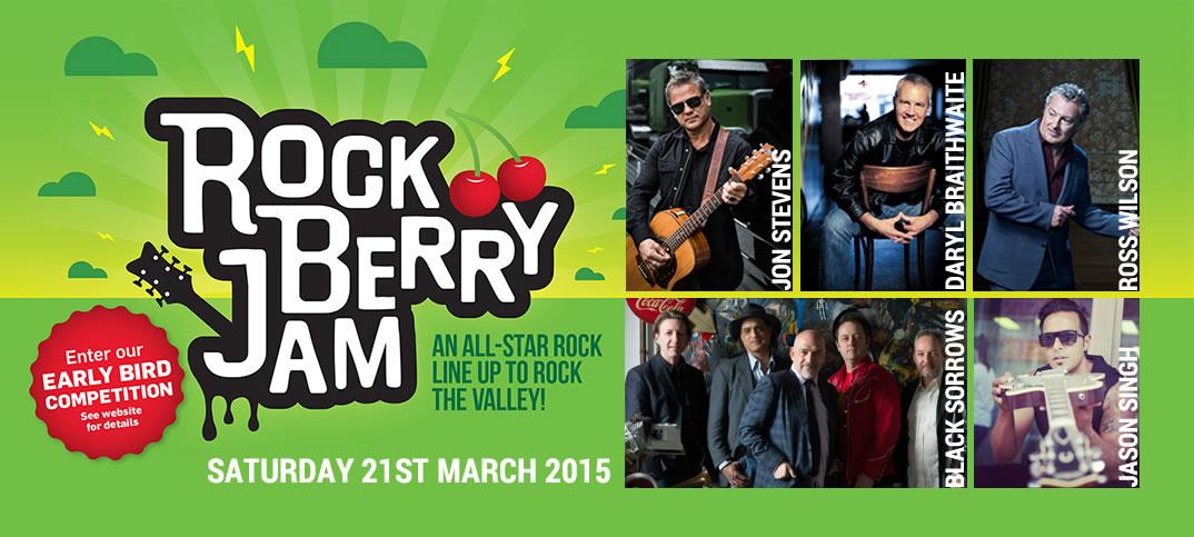 Rock Berry Jam