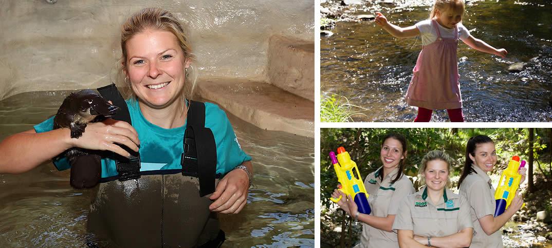 Splash About at Healesville Sanctuary