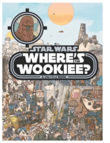 Where's the wookiee book Found at Target