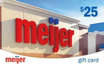 Meijer gift card photo