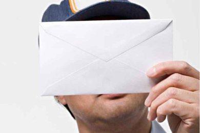 poštar- pismo