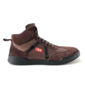 "DSL ""Suede leather"" brown sneakers - dot made"