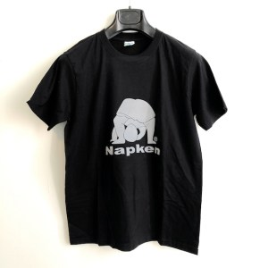 Napken black round neck t-shirt