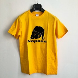 Napken yellow short sleeve round neck t-shirt - dot made