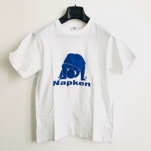 Napken White round neck t-shirt