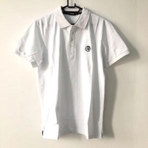 Diesel white short sleeve golf t-shirt