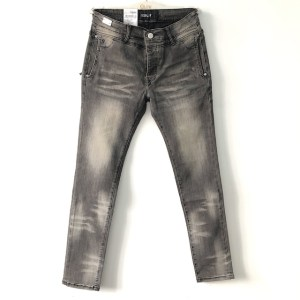 REPLAY HyperFlex Grey slim stretch denim jeans