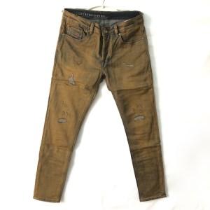 DIESEL Golden-Brown slim stretch Denim Jogg jeans