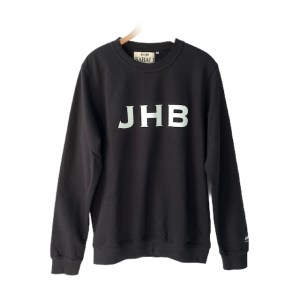 "SABALI black round neck ""011 Call home Sweater"""