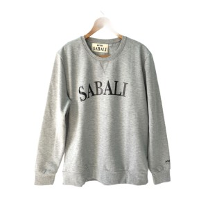"SABALI grey round neck ""KG Basketball Sweater"""