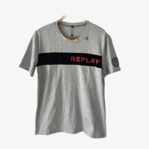 Round neck t-shirt - Grey