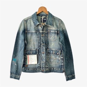 "DIESEL Blue ""Wild Spirit"" denim jacket"