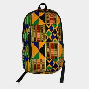 """Oval """"Green Shawn Pahwa"""" backpack - dot made"""