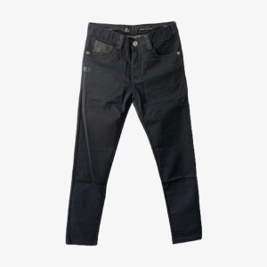 "Angelo Galasso ""Snake"" denim jean - Black - dot made"