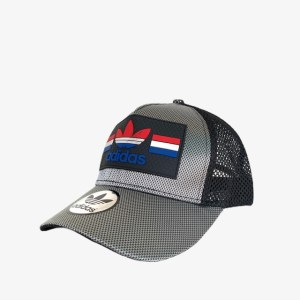 """ADS """"Reflections"""" cap - Silver black - dot made"""