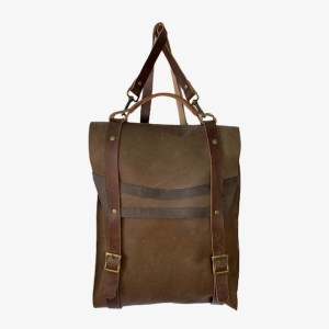 OB Cedar brown leather backpack - dot made