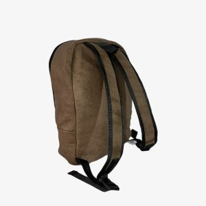 OB Buffalo leather brown backpack – dot made