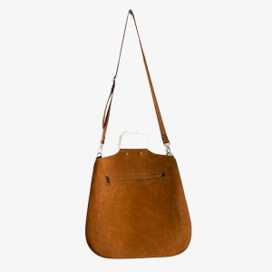 OB Tawny leather sling hand bag - dot made