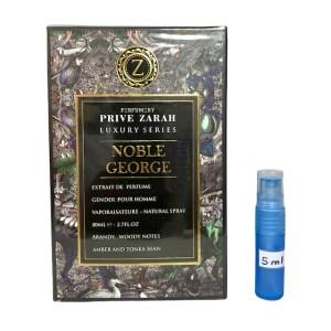 Noble George Prive Zarah EDP perfume 5ml sample