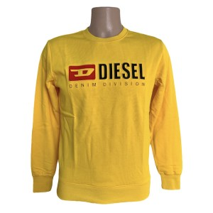 DSL Denim division yellow sweater