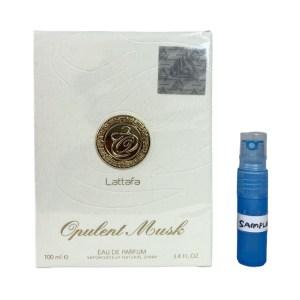 Opulant Musk EDP perfume 5ml sample