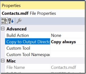 Integration Testing with SQL LocalDb on your build server
