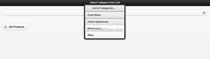 jquery-mob-categories