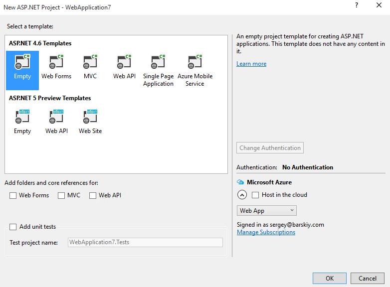 Angular 2 in Visual Studio 2015 with TypeScript – Sergey ... on