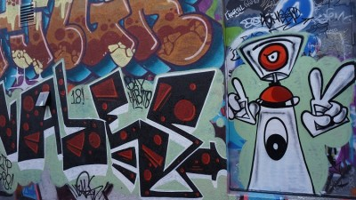 Callejón Grafitti Alley. Foto: Dotnews.info