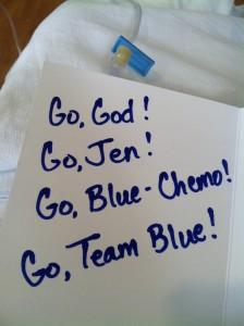 Blue Chemo Days
