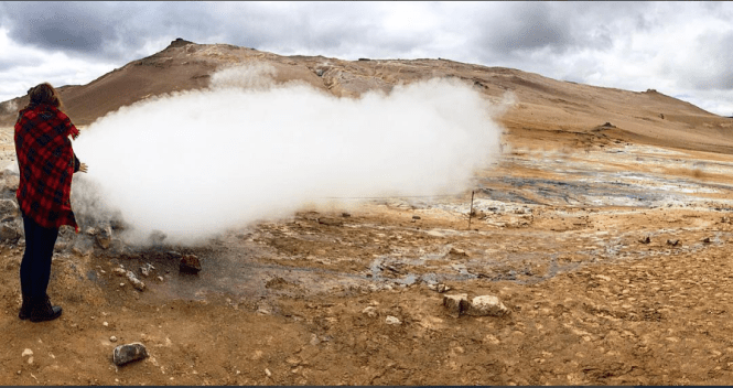Mudpots and Steam vents in Iceland