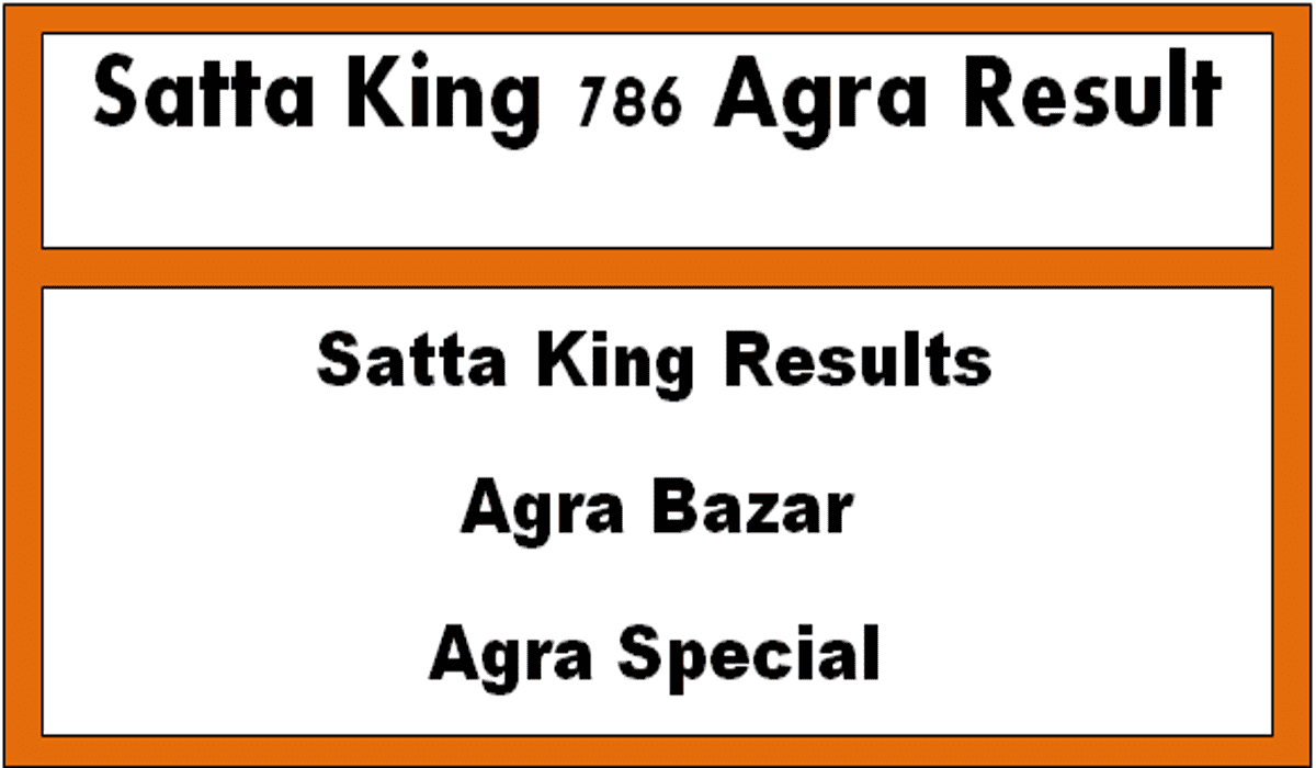 Satta King 786 Agra