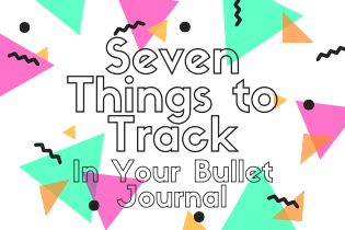 Bullet Journal Trackers Header