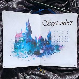 September 2020 Bullet Journal Setup- Cover