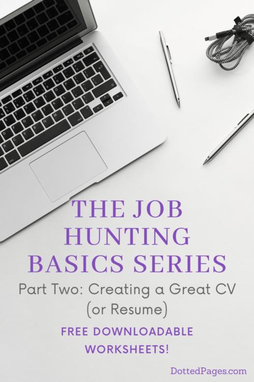 Creating a Great CV Pin