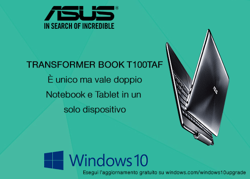 Transformerbook T100TAF