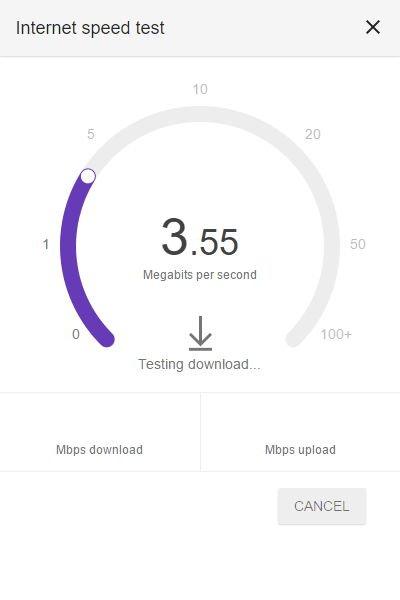 Testare la velocità reale della connessione internet