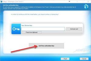 Ashampoo core tuner 2 get activation key