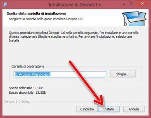 dexpot install 3