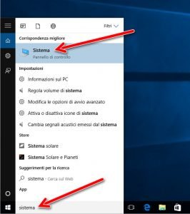 Sistema Windows 10