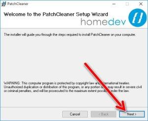 PatchCleaner installazione