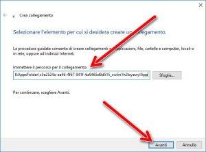 Esplora file in formato UWP