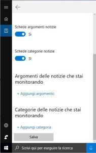 Farsi conoscere da Cortana notizie