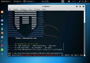 bloccare e mandare in crash un computer in rete