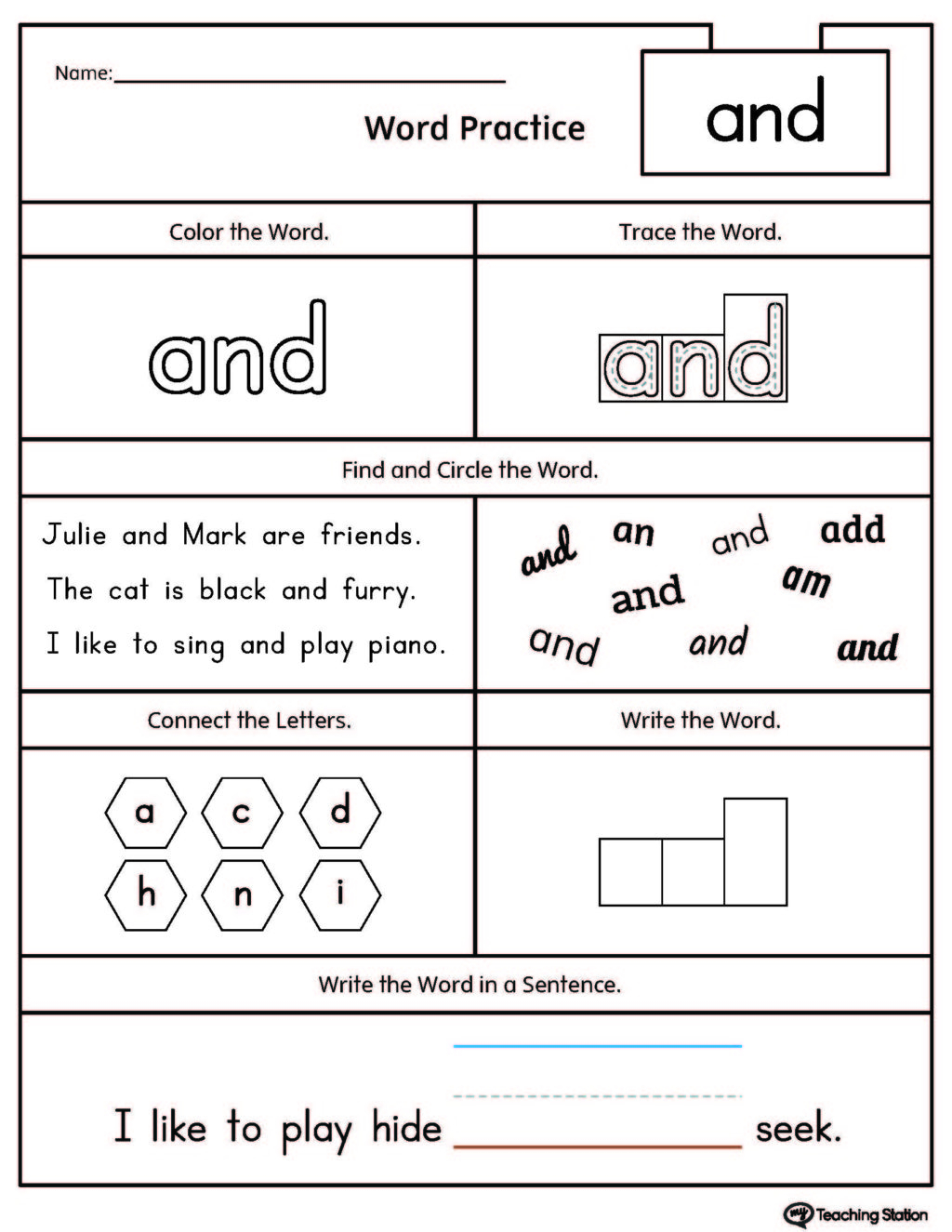 Teaching Station Letter D Tracing And Writing Printable