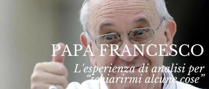 Papa Francesco analisi psicoanalista