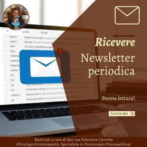 Newsletter dott.ssa Valentina Carretta