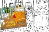 Libro da colorare di Van Gogh  DottorGadget